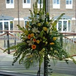 Wedding Reception Flowers London Holiday Inn