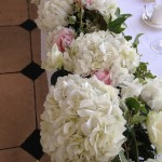 Table Top Wedding Flowers Kew Gardens London Close Up Detail