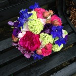 Jewel Coloured Wedding Bouquet London