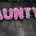 AUNTY Funeral Tribute Flowers London