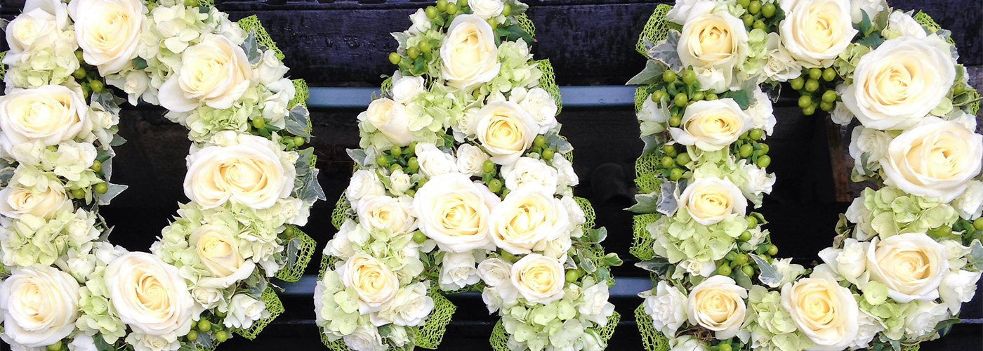 Dad White Rose Funeral Tribute London
