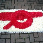 Arsenal Gunners Floral Funeral Tribute