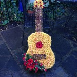 Guitar Funeral Tribute Flowers London