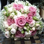 Pale Pink Rose Wedding Bouquet London