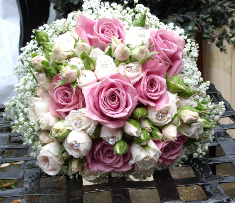 Experts for wedding flowers london west london flowers pale pink rose wedding bouquet london mightylinksfo