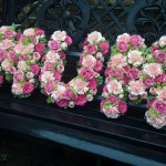 Mum Pink Rose Floral Funeral Tribute London