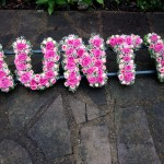 AUNTY Funeral Tribute Flowers London