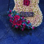 Guitar Floral Funeral Tribute London