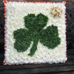 Shamrock Floral Tribute