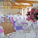Summer Wedding Flowers at Wetland Centre, London